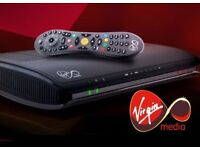 VM TiVo Box with Remote and Power Cable