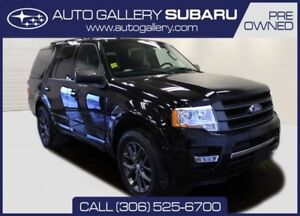 2017 Ford Expedition LIMITED | 4X4 | SECOND ROW HTD BUCKETS | PO
