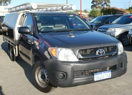 2010 Toyota Hilux GGN15R MY10 SR Grey 5 Speed Manual Cab Chassis