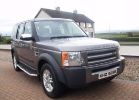 2008 LANDROVER DISCOVERY TDV6 GS AUTO 7 SEATER