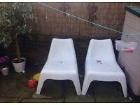 Ikea ps vago chairs ( garden )