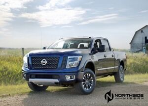 2018 Nissan Titan XD 4X4 PRO-4X CREW CAB BIRD EYE CAMERA, BLUETO