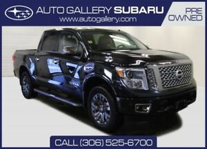 2017 Nissan Titan PLATINUM RESERVE | 20-INCH WHEELS | HEATED & C