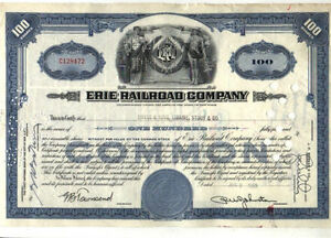10 DIFFERENT RAILROAD STOCK CERTIFICATES AND BONDS