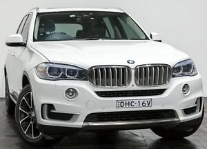 2014 BMW X5 F15 xDrive30d White 8 Speed Sports Automatic Wagon Rozelle Leichhardt Area Preview