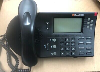 Shoretel 560 Phone With Handset