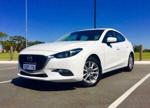 2016 Mazda 3 BM MY15 Neo White 6 Speed Automatic Sedan