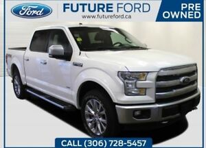 2017 Ford F-150 Lariat|3.5 ECOBOOST|10SPEED AUTO|TWIN PANEL MOON