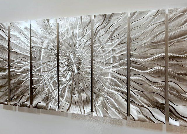 Statements2000 Abstract 3D Metal Wall Art Large Modern