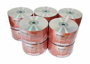 500 SKYTOR A GRADE Blank CD-R CDR Silver Shiny Top 52X Media Disc