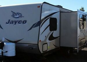 2015 Jayco WhiteHawk 23MBH - RV Travel Trailer with slideout