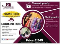 Cinematography + Photography + Magic Mirror Hire