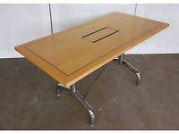Tula Wood Veneer Flip Top Tables