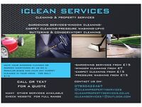 ICLEAN PROPERTY SERVICES - DOMESTIC AND COMMERCIAL CLEANING AND GARDENING SERVICES-