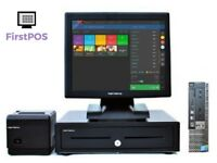 Complete Touchscreen Retail/Hospitality EPOS POS Cash Register Till System