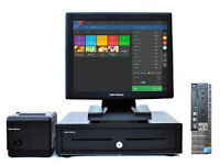 """Complete 17"""" Touchscreen Retail/Hospitality EPOS POS Cash Register Till System"""