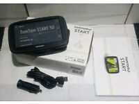 TomTom Start 50 With UK & IRELAND Maps Installed With LIFETIME MAPS