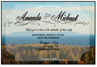 WEDDING INVITATIONS made IN THUNDER BAY