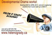 #1 Drama Academy in the world is registering for Spring classes
