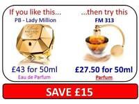 FM fragrances men and women