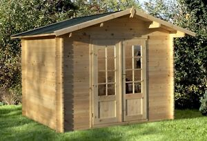 Remise Chalet 6'x6' à 16'x16' / Wood Shed Chalet 6x6 to 16x16
