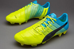 PUMA evoPOWER 1.3 FG Men's New Firm Soccer Cleats US 11.5 Safety