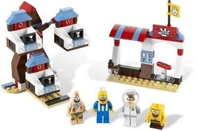 Lego 3816 SpongeBob SquarePants Glove World * Sealed Box * Patrick Sandy Cheeks