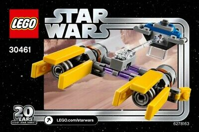 Lego Star Wars Podracer 30461 Polybag 20th Anniversary Edition BNIP
