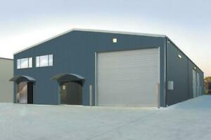 Steel Buildings, Sports Arenas, Workshops, Garages
