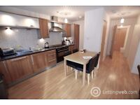 Double room in modern, furnished 2 bed flat, own bath, terrace, Sep 11th - no students