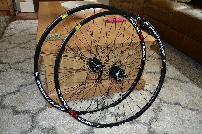 8a1d1653b01 700c Disc Wheelset Wheels 8 10 11 speed Shimano   SRAM compatible. Cyclocross  Gravel Road