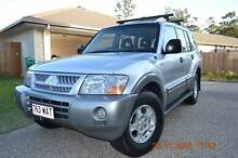 *AMAZING* 2004 Mitsubishi Pajero 7 SEATS LONG REGO&RWC Loganlea Logan Area Preview
