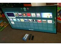 Samsung 46 Inch super slim led smart 3D WiFi new condition fully working with remote control
