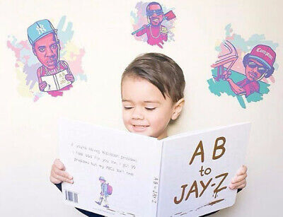 NEW AB to Jay-Z Novelty Children's Book Out of Print Hardcover w/ Inscription