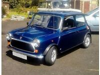 Classic 1994 ROVER MINI TAHITI , 21,000 miles, possible SWAP RangeRover etc?
