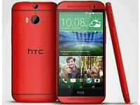 HTC One M8 - Red - 16GB