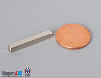 25x 3x 3mm 1 X 18x 18 Thick Rare Earth Neodymium Block Bar Magnets N4552