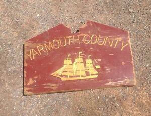 Yarmouth County Museum sign