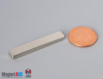 6pcs 38mmx6mmx3mm 1 12 X 14 X 18 N52 Rare Earth Neodymium Block Bar Magnet