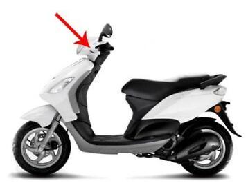 Spiegel Piaggio Zip : ≥ spiegel piaggio zip links rechts brommeronderdelen scooters