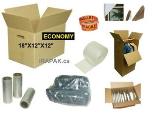 NEW Economy Moving Boxes on SALE, Packing Supplies