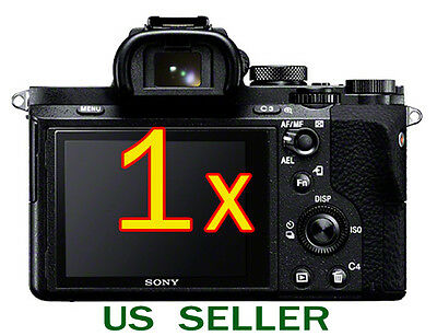 1x Clear LCD Screen Protector Guard Cover Film Sony Alpha A7 II Mark II Camera
