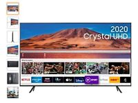 "Used - SAMSUNG UE43TU7100KXXU 43"" Smart 4K Ultra HD HDR LED TV"