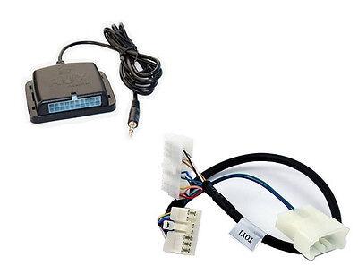 Auxiliary audio input interface. Add iPod aux MP3 jack to 98+ Toyota Lexus radio