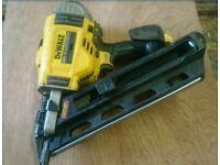 Dewalt first fix nail gun, sold as spares