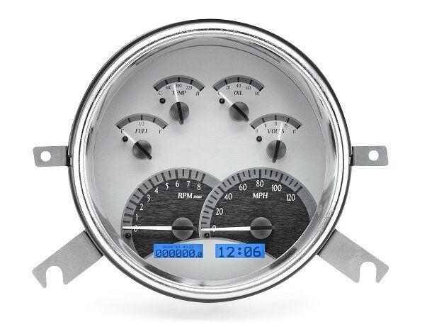 Dakota Digital 49 50 Chevy Car Instrument System Analog Dash Gauges Kit VHX-49C