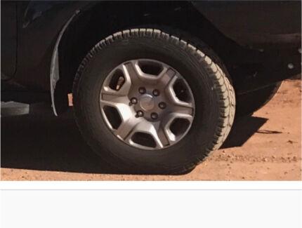 2017 Ford ranger alloy rims.