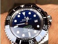 Rolex Deepsea Blue edition stunning with glidelock
