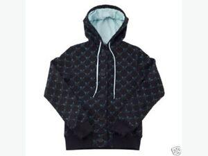 Never Worn Women's Nomis Black Button-Up Trulli Hoodie Size S Regina Regina Area image 1