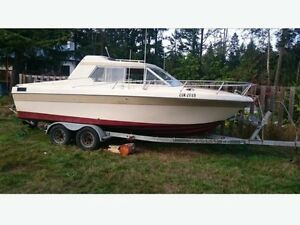 Reinell Cabin Cruiser for sale/or trade/open to offers